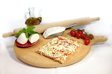 Produzione pizza e ingredienti